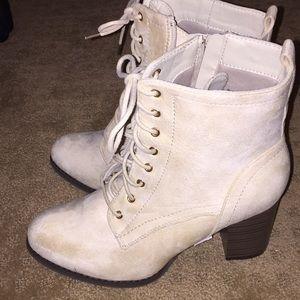 Jg bootie heeled boots